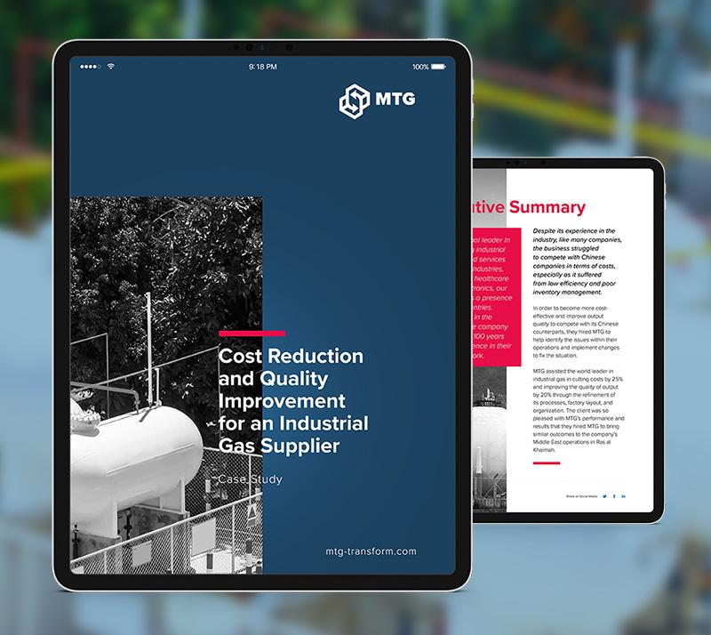 gas supplier case study