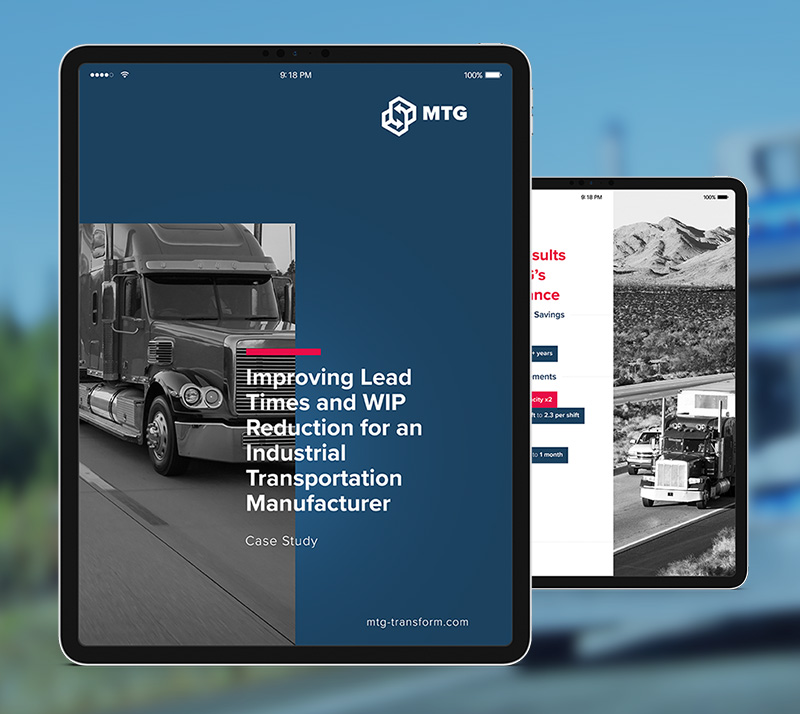 transportation manufacturer case study